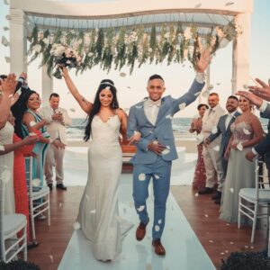 Everton and Isa Wedding