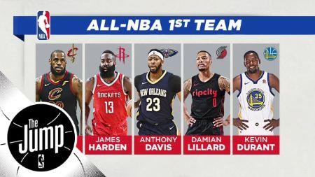 Lillard, All NBA First Team