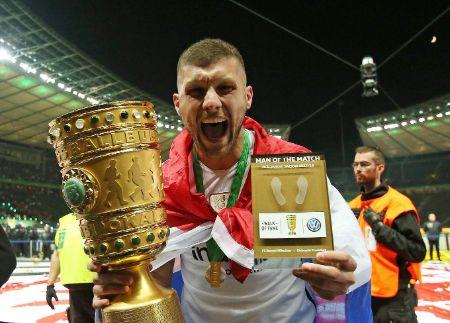 Ante Rebic, DFB Pokal