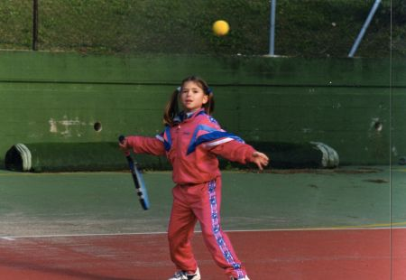 Camila Giorgi, early life