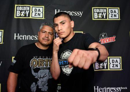 Vergil Ortiz Jr., Robert Garcia