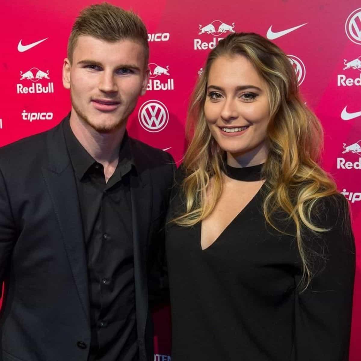 Timo Werner's girlfriend Julia Nagler