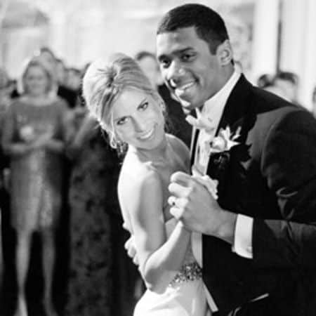 Ashton Meem and Russell Wilson