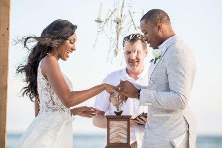 Maria Taylor, Wedding