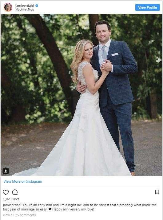Jamie Erdahl Husband