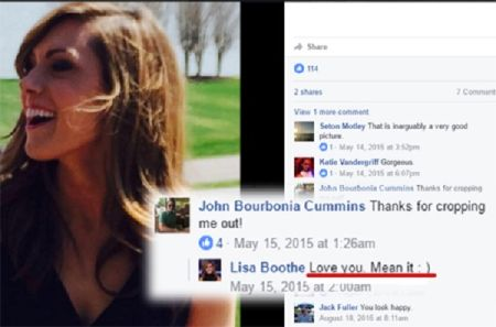 Lisa Boothe Facebook comment