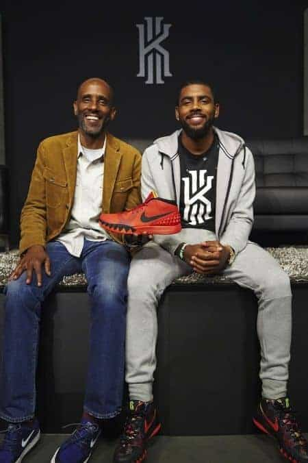 Kyrie Irving father