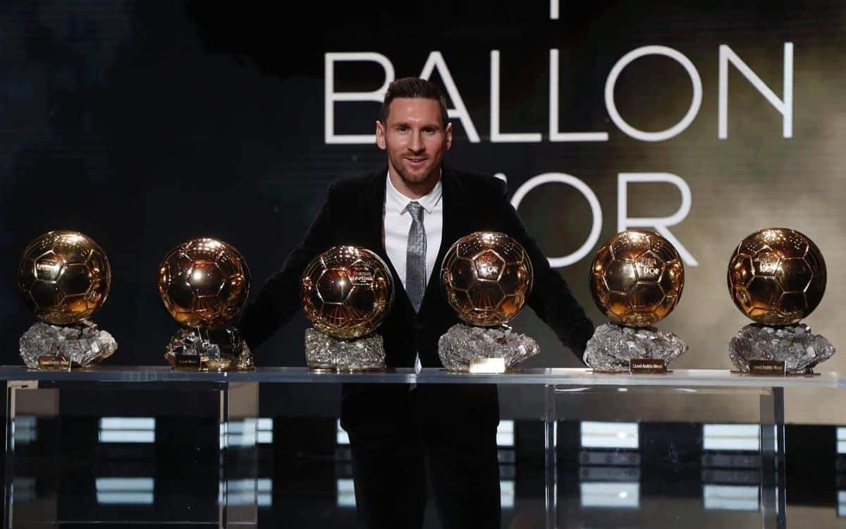 Europe's Ballon d'Or winner for the sixth time in 2019