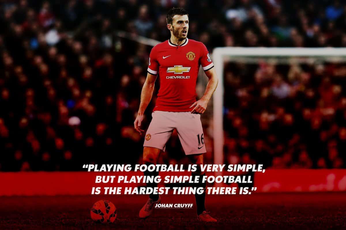 Johan Cruyff quote on football