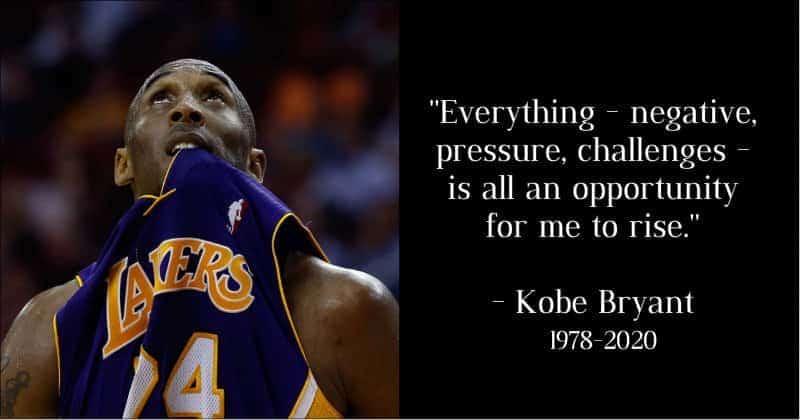 Kobe Bryant quotes on struggling life