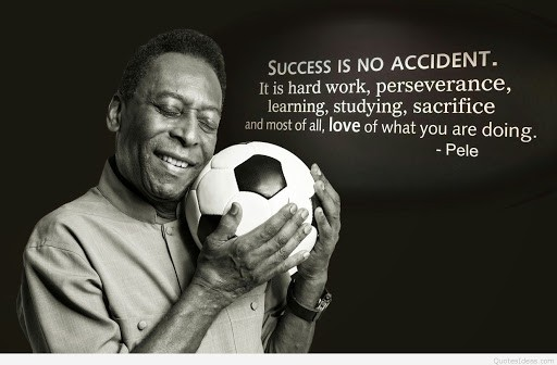 Pele quotes on success