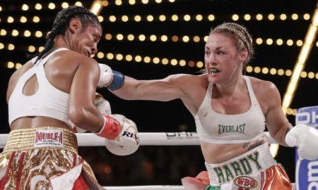 Heather Hardy boxing