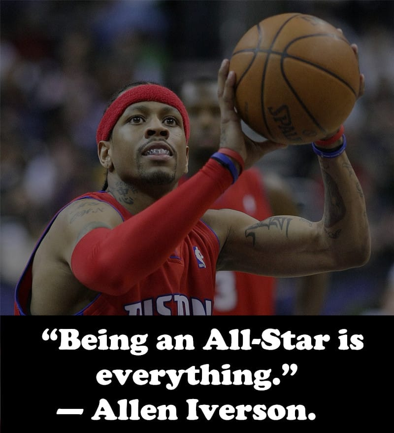 Allen Iverson quote on All-star