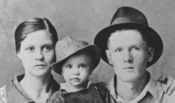 Beautiful picture of Vernon Law's family