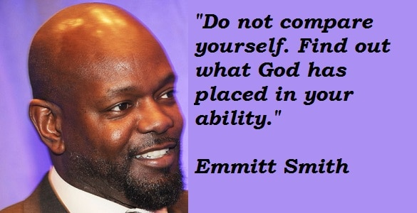 Emmitt Smith quote on ability