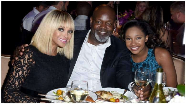 Emmitt Smith with his family