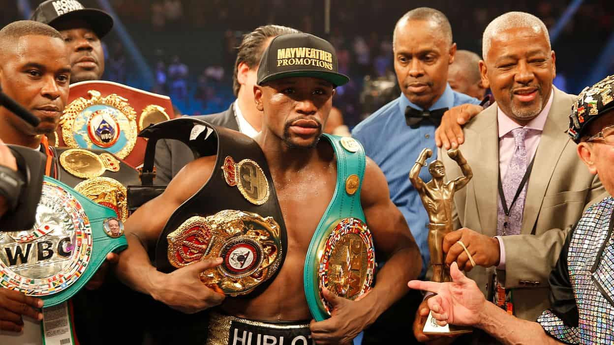 Floyd Mayweather, Jr. and Pacquiano win