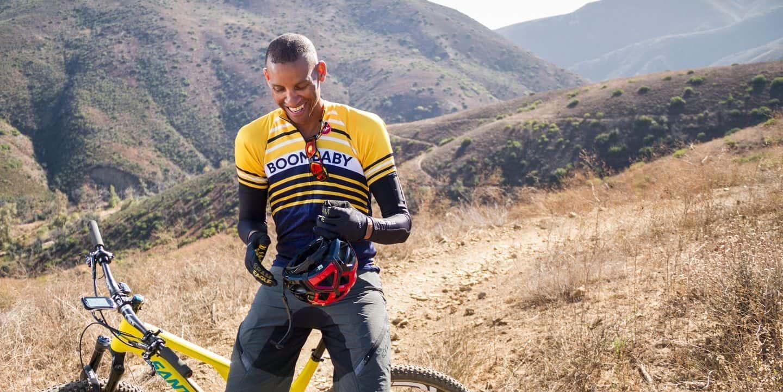 Reggie Miller found cycling amazing