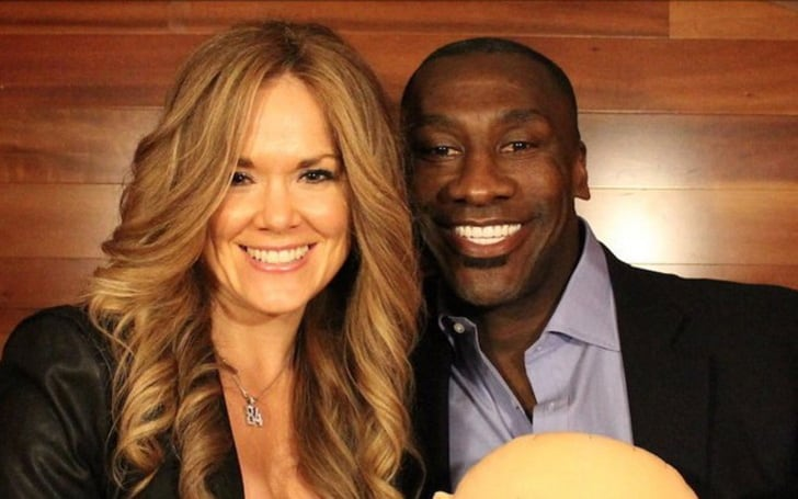Shannon Sharpe with his ex-wife, katey kellner