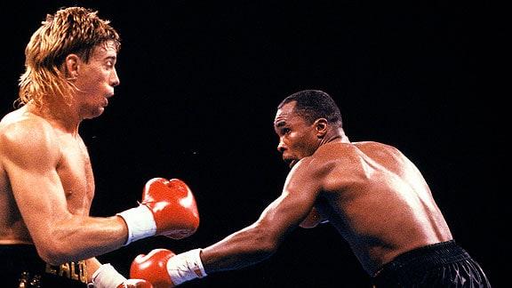 Sugar Ray Leonard vs. Donny Lalonde