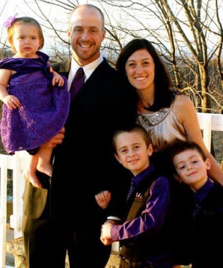 Erik Kratz wife and children
