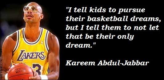 106 Inspiring Kareem Abdul Jabbar Quotes Players Bio