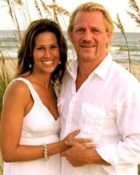 Karen Jarrett and Jeff Jarrett
