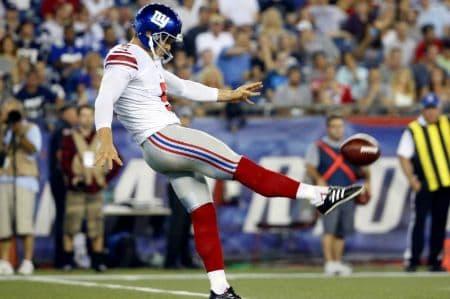 Steve Weatherford football