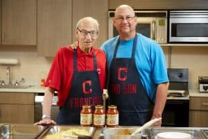 Terry Francona with his father