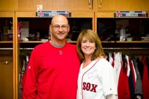 Terry Francona with his wife