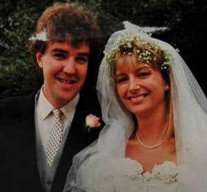 Jeremy Clarkson with his first wife