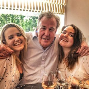 Jeremy Clarkson with his two daughters