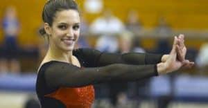 Nicole as a gymnast
