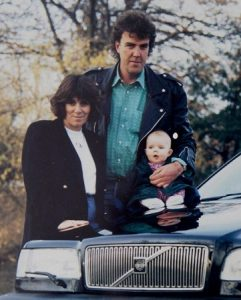 Jeremy Clarkson with second wife