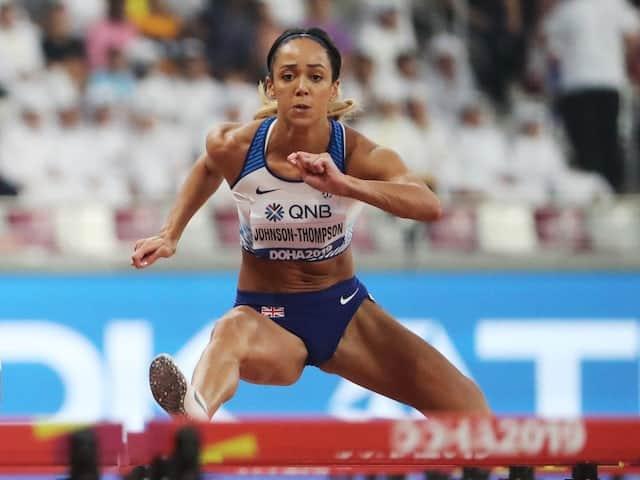 Katarina Johnson-Thompson on field