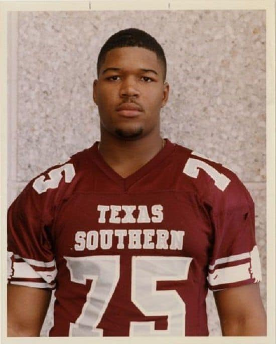 Michael Strahan in College