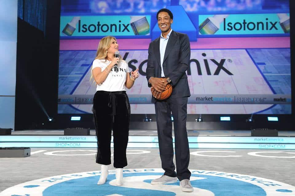 NBA Legend, Scottie Pippen