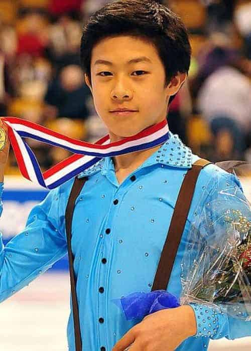 Nathan Chen during his early days