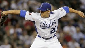 Pat Venditte, Baseball