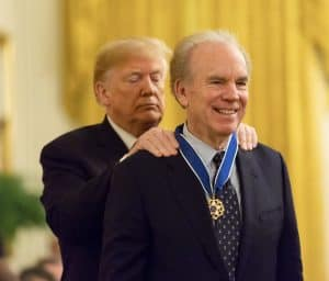President Donald Trump Presents Medal of Freedom to Roger Staubach