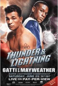 Gatti vs Mayweather