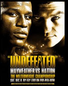 Hatton vs Mayweather