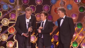 Jeremy Clarkson awarded with National Television award