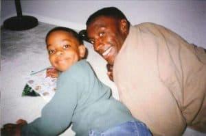Shannon with son Kiari