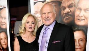 Terry Bradshaw & his wife Tammy