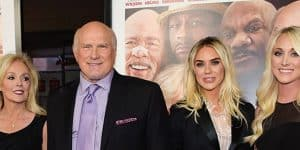 Terry Bradshaw with his family