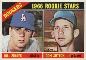 1966-Topps-Bill-Singer-Don-Sutton-RC-288