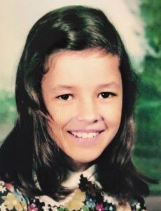A young Jillian Barberie