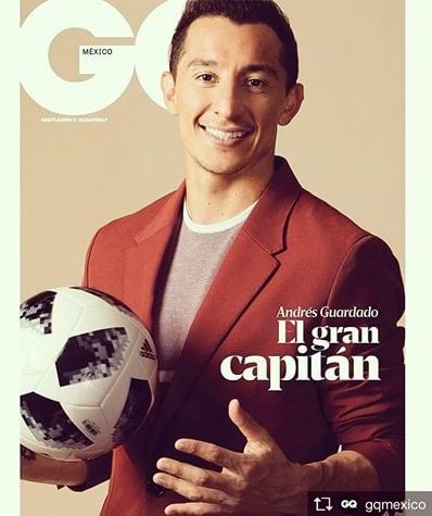 Andres Guardado, the Captain