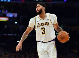 AnthonY Davis for the Los Angeles Lakers